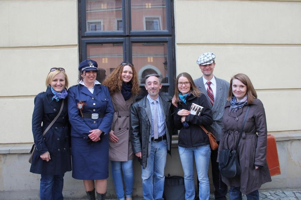 Wycieczka Szlakiem Komisarza Maciejewskiego